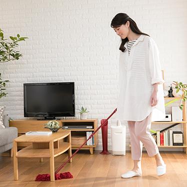e00686ec87 おそうじの新定番 3つの便利なアイテムでお部屋じゅうをキレイに。