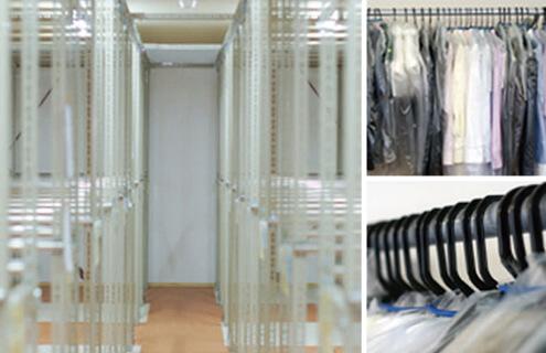 3.衣類の保管が、最大9ヵ月間無料!