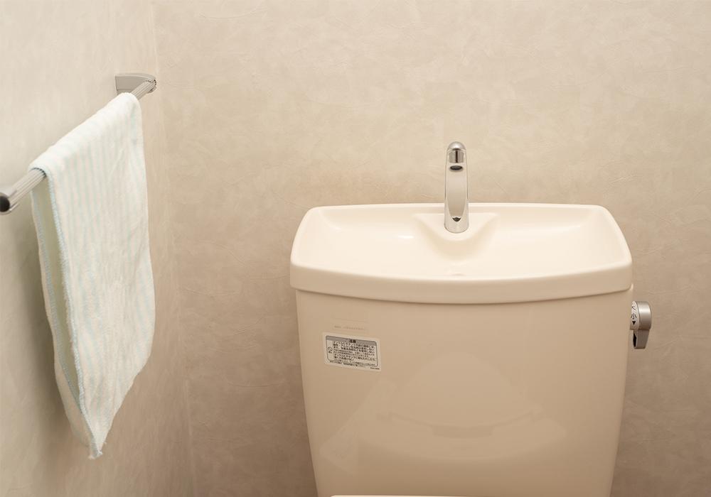 掃除 トイレ タンク